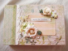 Chipboard Album ocbrandy*TPHH PREMADE Photo Scrapbook Handmade Keepsake Mini