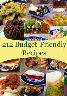 Enjoy The Budget Diets Recipe Index its your source for frugalicious and fast recipes! These cheap and easy recipes are neatly categorized, so you can find exactly what youre looking for.
