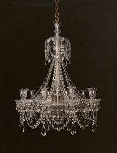 I Pinned This Kings Chandelier From The Look Linger Love Event At Josain For Home Pinterest Chandeliers Crystals And Lights