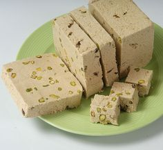 Traditional Tahini Halva