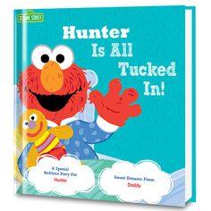 Get ready for bedtime with our All Tucked In On Sesame Street! Personalized Book!