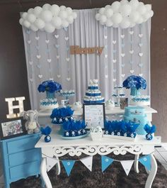 50 great baby shower themes and decorating ideas for boys - baby shower ideas . - 50 great baby shower themes and decorating ideas for boys – baby shower ideas – s - Deco Baby Shower, Baby Shower Cakes For Boys, Baby Shower Decorations For Boys, Boy Baby Shower Themes, Baby Shower Balloons, Baby Shower Centerpieces, Girl Shower, Shower Party, Baby Shower Parties
