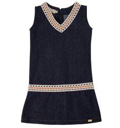Vestido Jeans - EMMABRAND  Conforto e estilo para as meninas Composição: 98% Algodão 2% Elastano