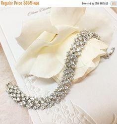 Bridal bracelet Wedding jewelrybridal jewelry by GlamDuchess