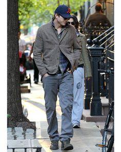 Ashton Kutcher in NYC.