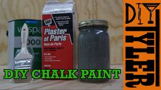 Today's video is all about saving you some cash and making your own chalk paint! As you probably know chalk paint goes on ANYTHING and it's really amazing an...