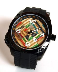 LIMITED EDITION  Recycled Skateboard Watch  Second by SecondShot