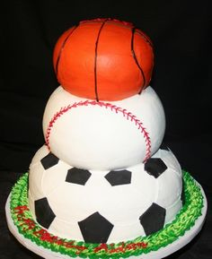I love this idea for the sports guy!!!!  Google Image Result for http://www.abccakeshop.com/uploads/Sports_fan_birthday_cake.jpg
