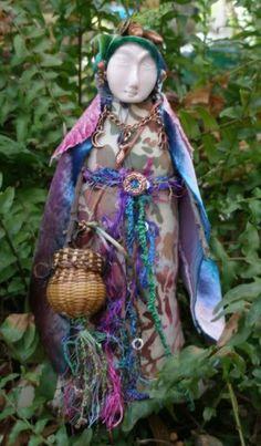 Spirit Doll. anne_d | Nature Spirit Healing Doll