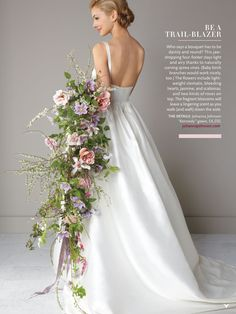Wedding bridal Bouquet, flowers Great idea for those that want something different