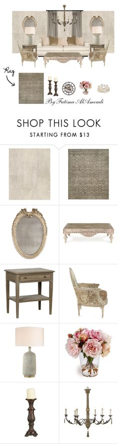 """French country vibe"" by faamoudi on Polyvore featuring interior, interiors, interior design, home, home decor, interior decorating, Osborne & Little, Safavieh, Bliss Studio and Massoud"