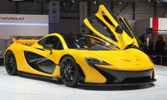 Top cars of the 2012-2013 auto shows - McLaren P1