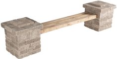 Pavestone Rumblestone™ Bench No. 4 Instructions #diy