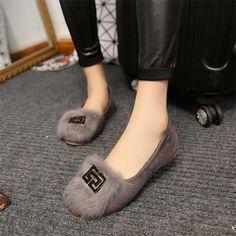 Zapatos de los planos de Las Mujeres Del Leopardo Nuevo 2016 Otoño Invierno de la Mujer Mocasines Zapatos Slip On Flat Casual Zapatos de Moda de Buena Calidad Cómoda