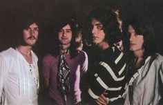 Led Zeppelin in 1969 by Ron Raffaelli