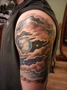 this inspires me to get a starry night tattoo (maybe without the clouds) and including 7 stars for my family members