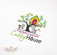 Tree House Children Logo. Design by; Whimsical Logoshop