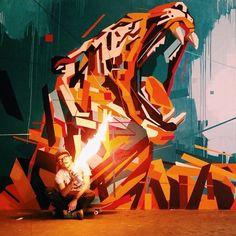 Artwork: Arlin. #streetart jd