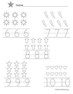 preschool shape printable worksheet