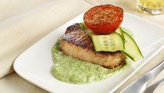 Ukemeny: Lette, gode og sunne middager Eating Well, Salmon Burgers, Avocado Toast, Baked Potato, A Food, Steak, Deserts, Snacks, Healthy