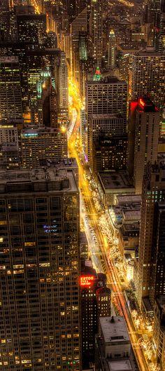 Cruising the Magnificent Mile, Chicago