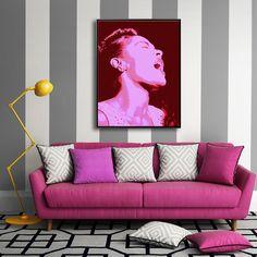 SINGING IS MAGIC MIXGALLERY portrait,face,woman,jazz,wallart,canvas,canvas print,home decor, wall,framed prints,framed canvas,artwork,art