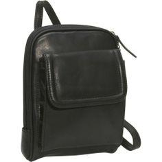 Amazon.com: Osgoode Marley Mini Organizer Bag - Black: Clothing