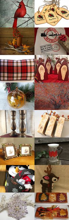 Rustic Christmas by clmrgns on Etsy--Pinned with TreasuryPin.com