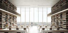 Wettbewerb Zentral und Landesbibliothek 3.Preis_Max Dudler Architekt_Berlin