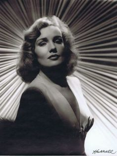 Frances Farmer by George Hurrell