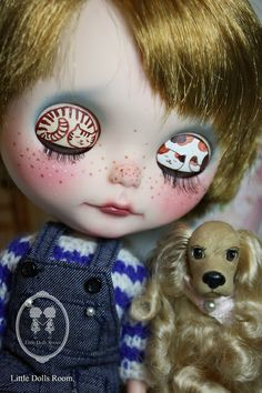 Custom Commission Blythe Doll. by little dolls room, via Flickr