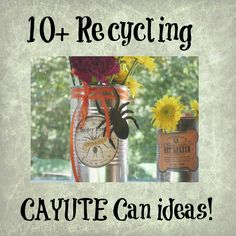 recycling can ideas