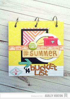 Summer Bucket List Mini Album by ashleyhorton1675 at @studio_calico
