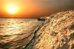 Photograph sunset at the sea by yahia ALAMRI on 500px