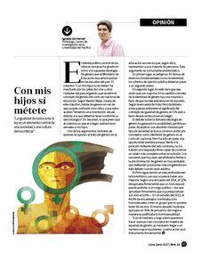 Diseño Editorial de Revista Alumni UP. Layout: Ricardo Cervera Ilustración: Víctor Aguilar