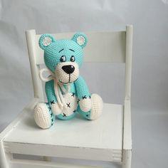 Azurový medvídek