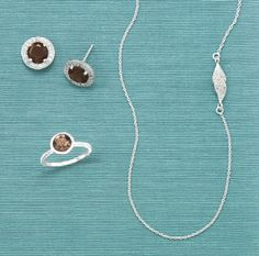 SMOKY QUARTZ ESPRESSO EARRINGS http://www.gemstonejewelersusa.com/product-p/65713.htm STACKABLE SMOKY QUARTZ RING http://www.gemstonejewelersusa.com/product-p/83450.htm