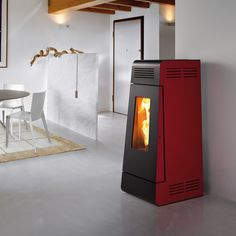 Pelletkachel New Linea Caminetti Montegrappa Stove Fireplace, Fireplace Design, Stoves, Simple, Home, Accessories, Stoves Cookers, Skillets, House