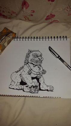 Fu Dog sketch