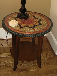 Round Mosaic Table Top
