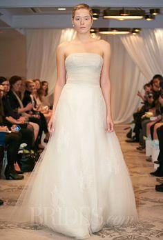 Justina McCaffrey Wedding Dresses Fall 2014 Bridal Runway Shows | Wedding Dresses Style | Brides.com