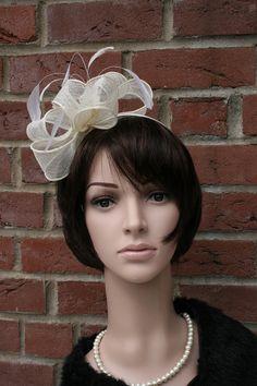 """Haarreifen """"Bow"""", ivory von JulaceWest auf DaWanda.com"""