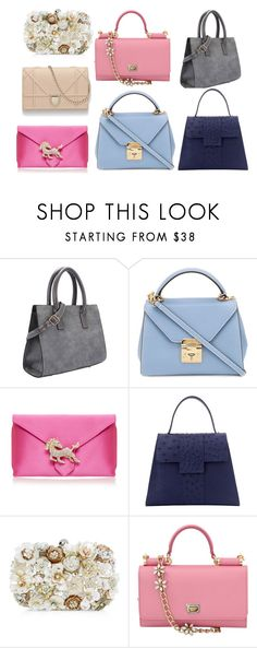 """bags"" by piksaevama on Polyvore featuring Mark Cross, Wilbur & Gussie, Accessorize и Dolce&Gabbana"