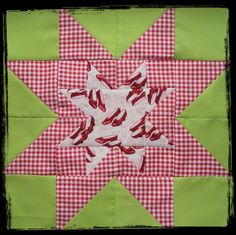 Gingham!    Flying Blind On A Rocket Cycle: Camp Quilting - Brit Bee Style...