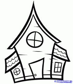 Simple House Drawing Recherche Google Drawings In 2019