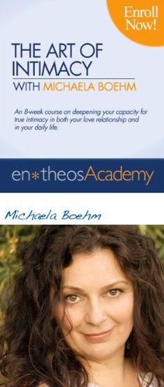 The Art of Intimacy with #MichaelaBoehm — #MindBodySpirit. Brought to you by SunGoddess Magazine: Igniting the Powerful Goddess WIthin http://sungoddessmagazine.com
