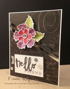 Mimi, Myself, and I: Damask Divas Nevermore Blog Hop | CTMH September Stamp of the Month