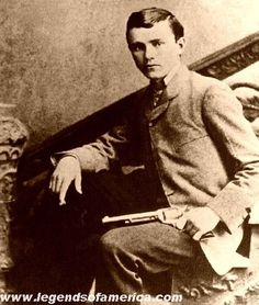 Photo of the real Robert Ford, the dirty, little coward that shot Mr. Howard (Jesse James).