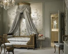 French Empire Style Bedrooms Eye for Design Blog-  Info on antiques!