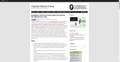 Engaging Learners through Digital Storytelling: 40  Resources